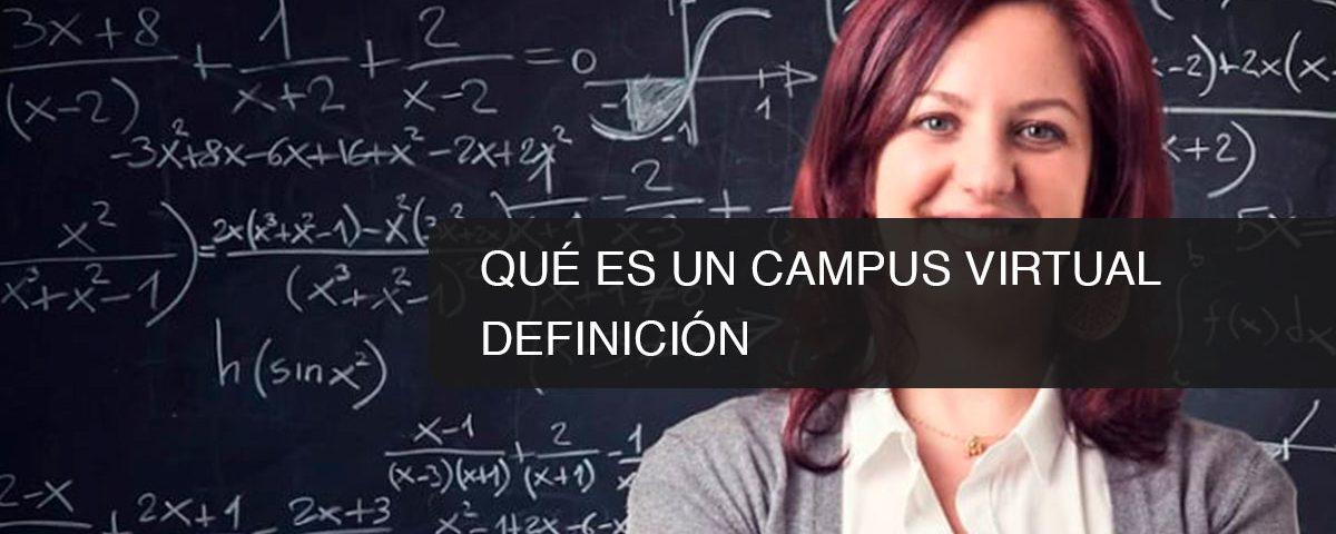 Qué es un Campus Virtual