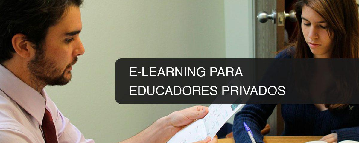 E-Learning para Educadores Privados