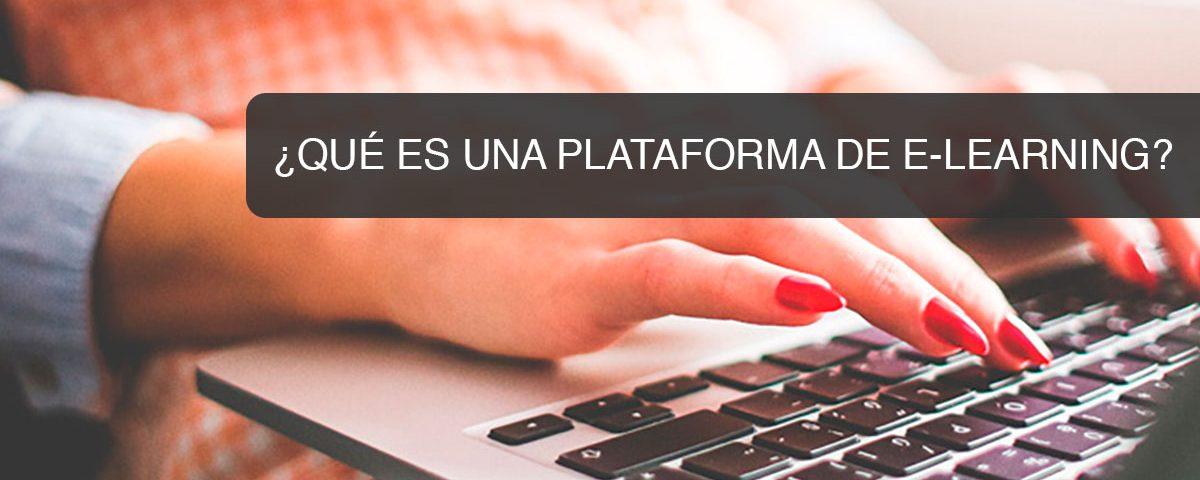Que es una plataforma de E-Learning