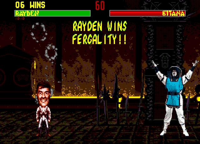 """Fergality: La """"fatality"""" super secreta de Mortal Kombat 2"""