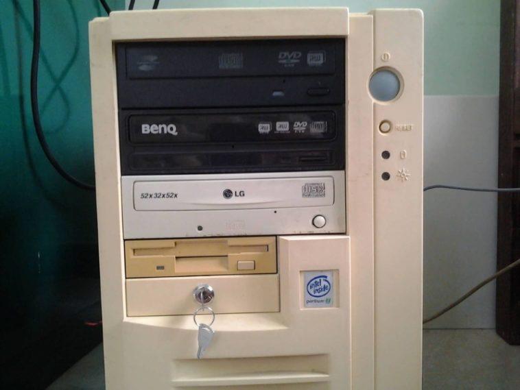 ¿Por qué los ordenadores viejos tenían cerraduras?