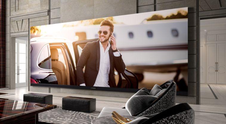 El televisor 4K más grande del mundo: 262 pulgadas por medio millón de dólares