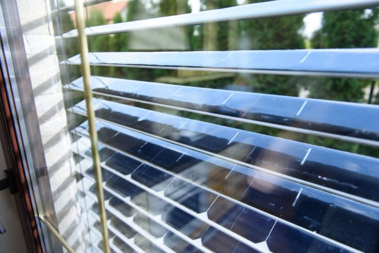 SolarGaps: Persianas con paneles solares integrados