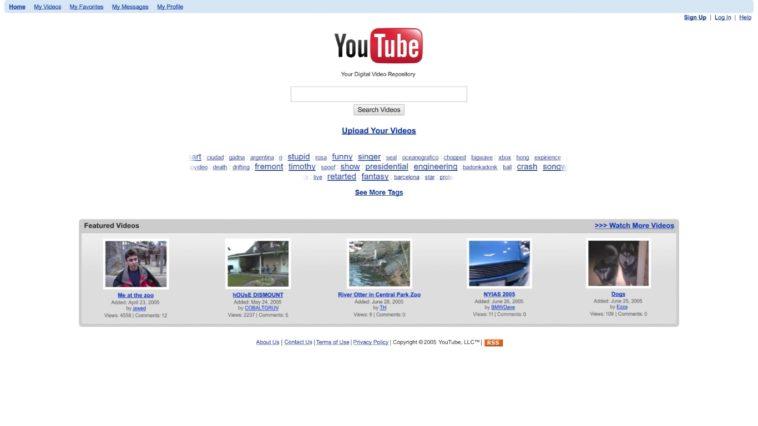 La evolución de YouTube en un vídeo (2005-2017)