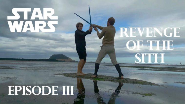 Revenge of the Sith: La remake toma por toma hecha por fans de Star Wars