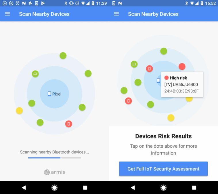BlueBorne Vulnerability Scanner: Detecta si la vulnerabilidad de Bluetooth afecta tu teléfono Android