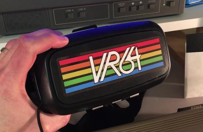 Commodore VR64: Un clásico de la retroinformática, en realidad virtual