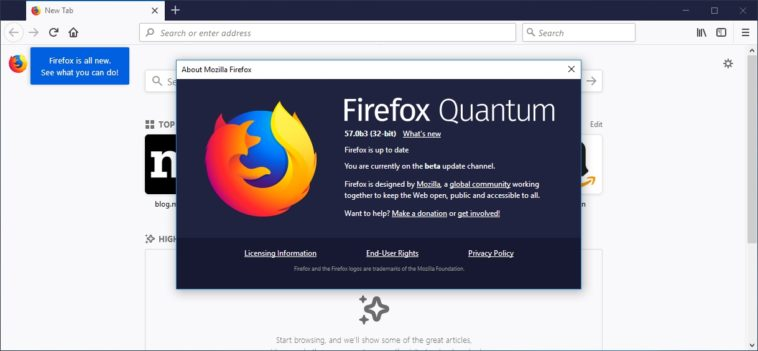 Descarga Firefox Quantum: El navegador más rápido de Mozilla (y con nueva interfaz)