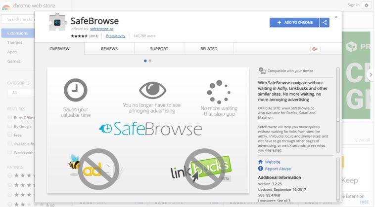 Detectan la primera extensión para Chrome con un minero integrado