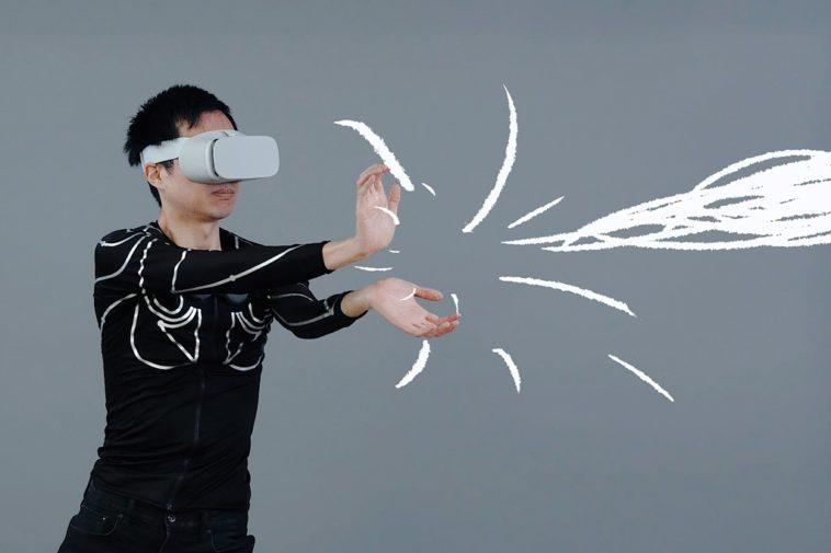 e-skin: Camiseta para controlar dispositivos de realidad virtual