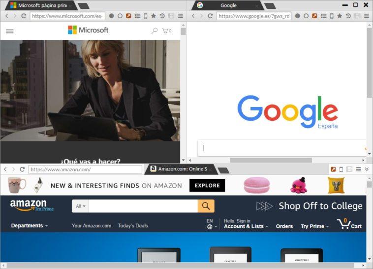 Sushi Browser: Un navegador multipanel basado en Chromium