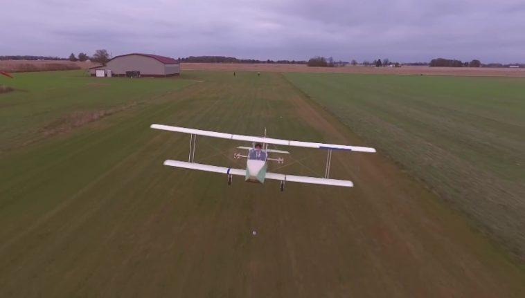 Cómo construir un avión eléctrico tripulado en un mes y medio, paso a paso