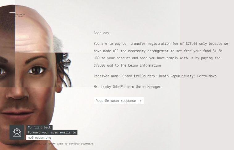 Re:scam: Una inteligencia artificial para volver locos a los scammers