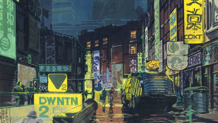 Syd Mead: El arte del creador del mundo de «Blade Runner»