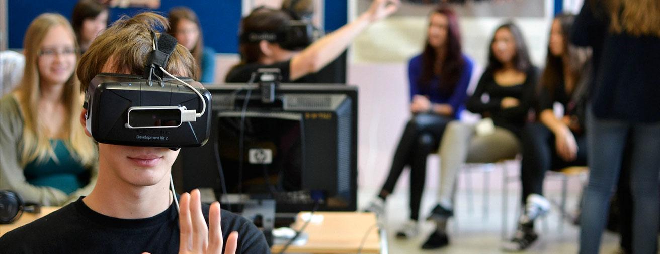 Cómo la educación está usando la Realidad Virtual
