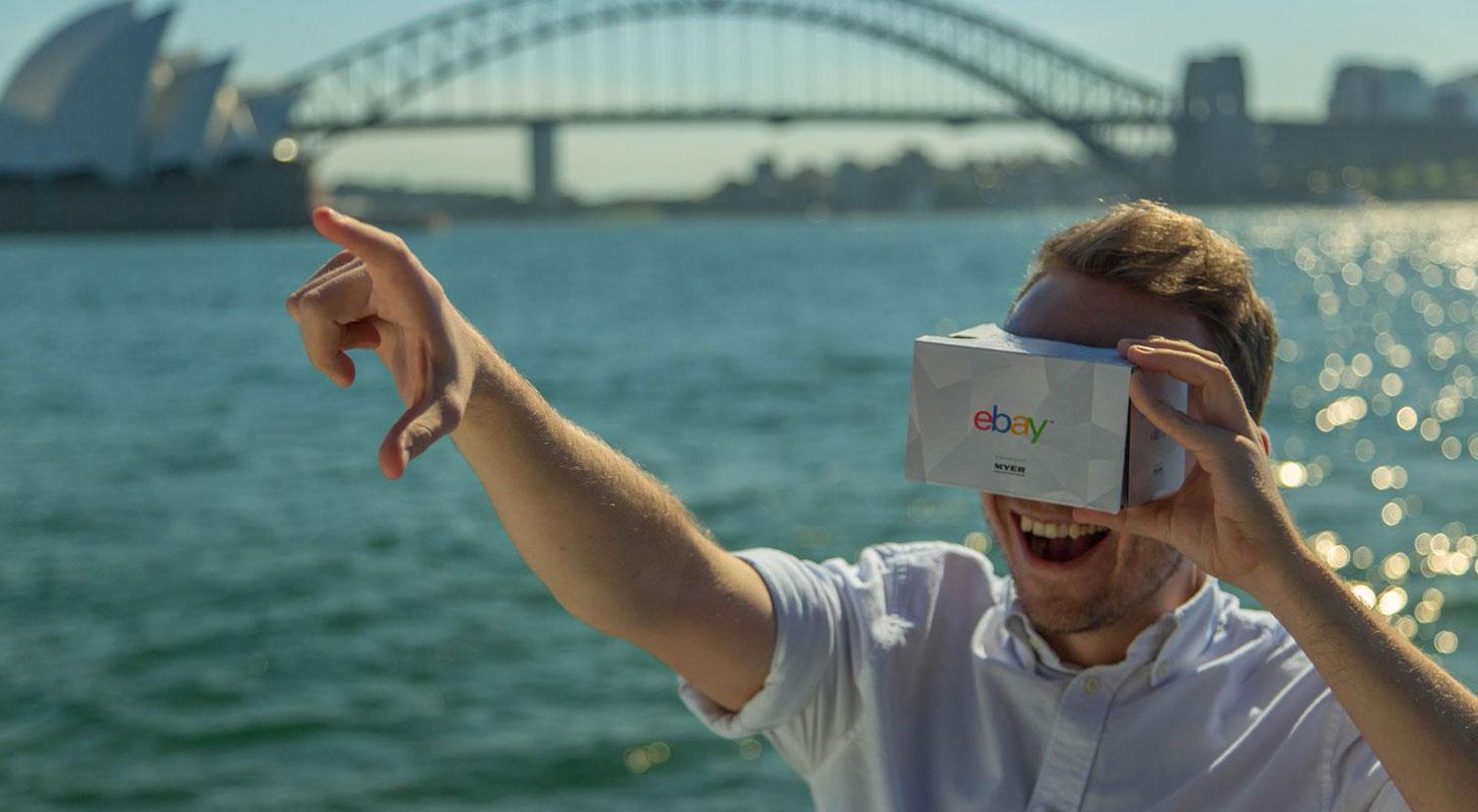 eBay y Myer utilizaron la realidad virtual para su sitio de comercio electrónico