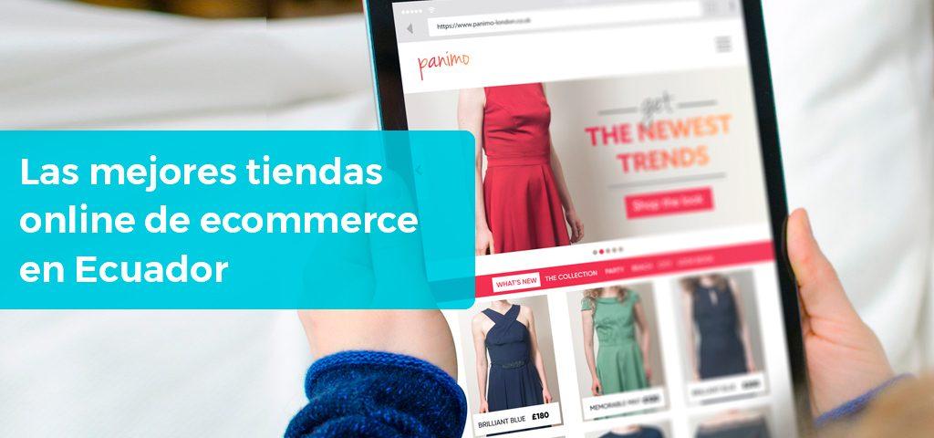 Las mejores tiendas online de comercio electrónico en Ecuador