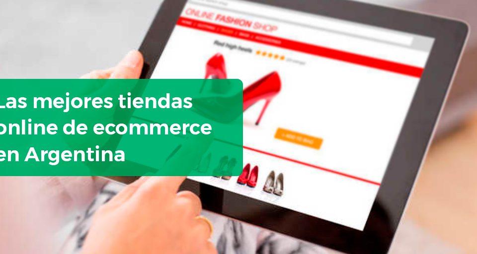 Banner mejores tiendas online de comercio electrónico en Argentina