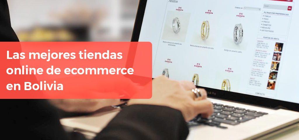 Las mejores tiendas online de ecommerce en Bolivia