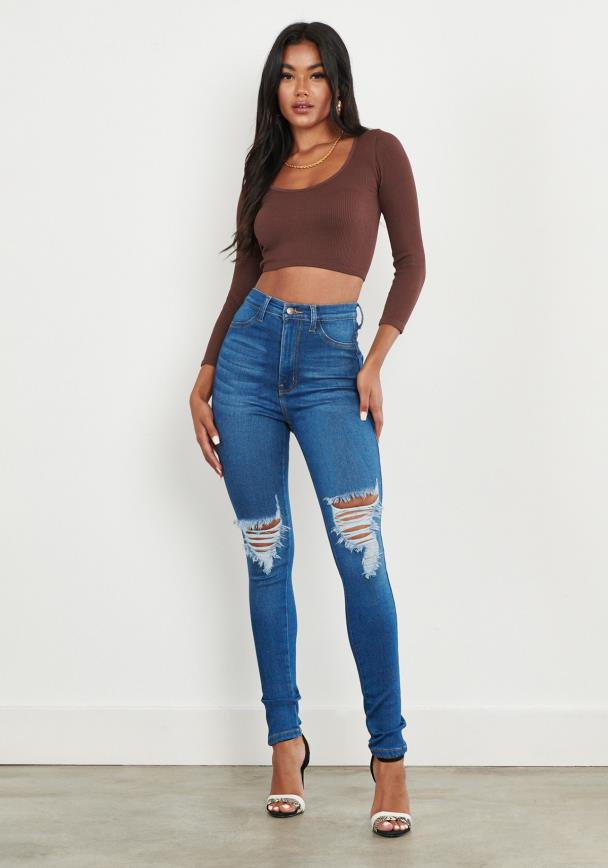 Double Trouble Skinny Jeans
