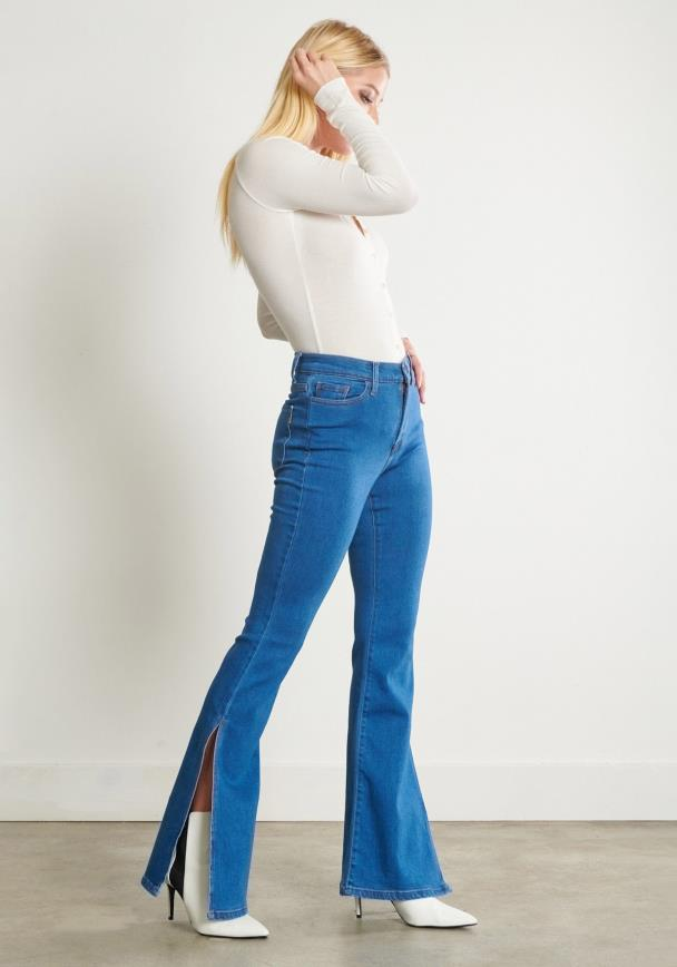 Stuck on You Flare Jeans
