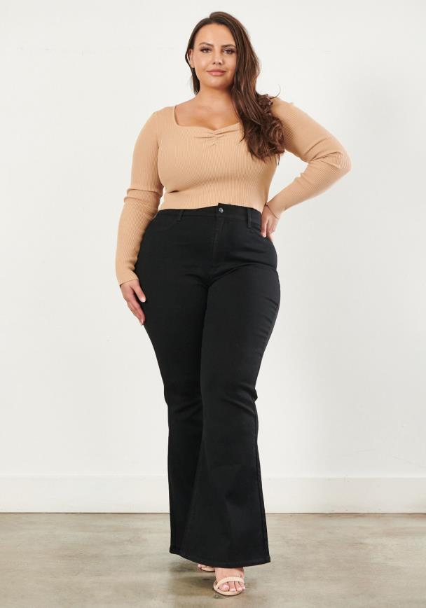 PLUS Bell Flare Jeans