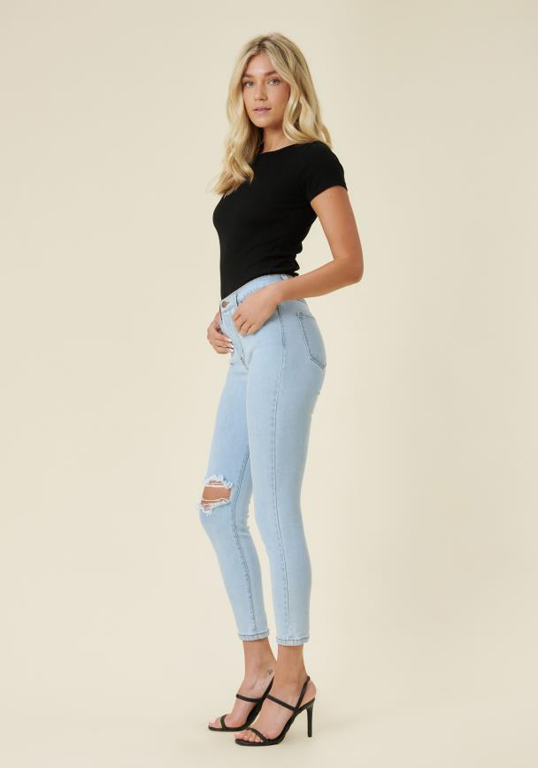 Alexis Ankle Skinny Jeans