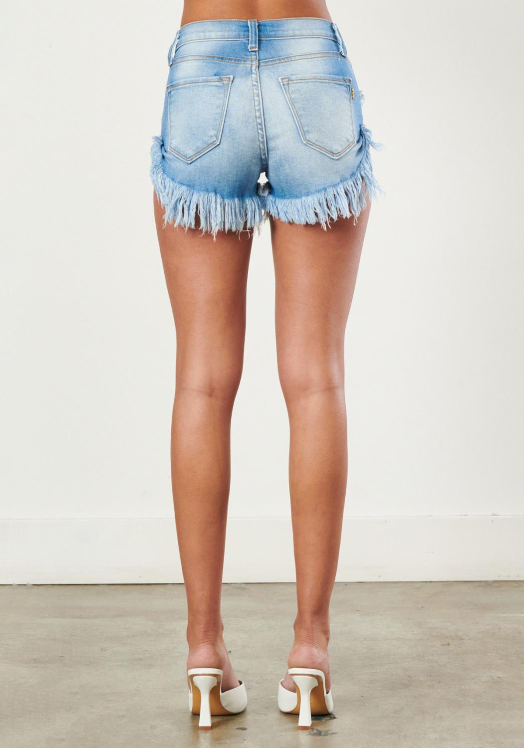 Rita Denim Cutoffs