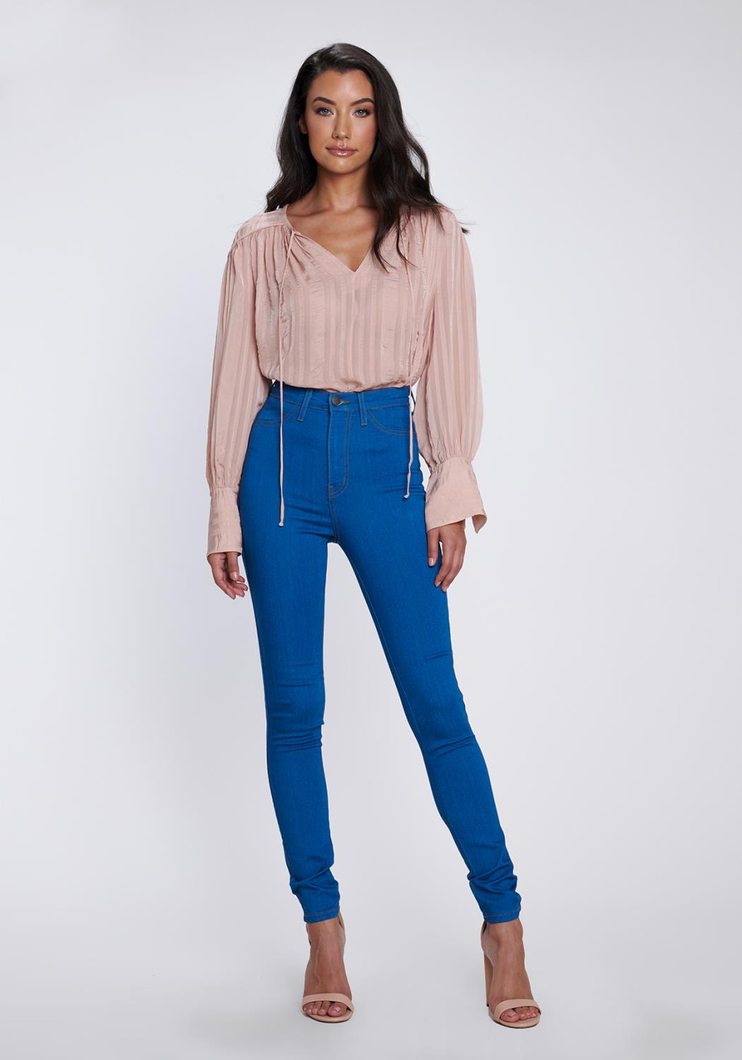 Retro High-Waisted Jeans