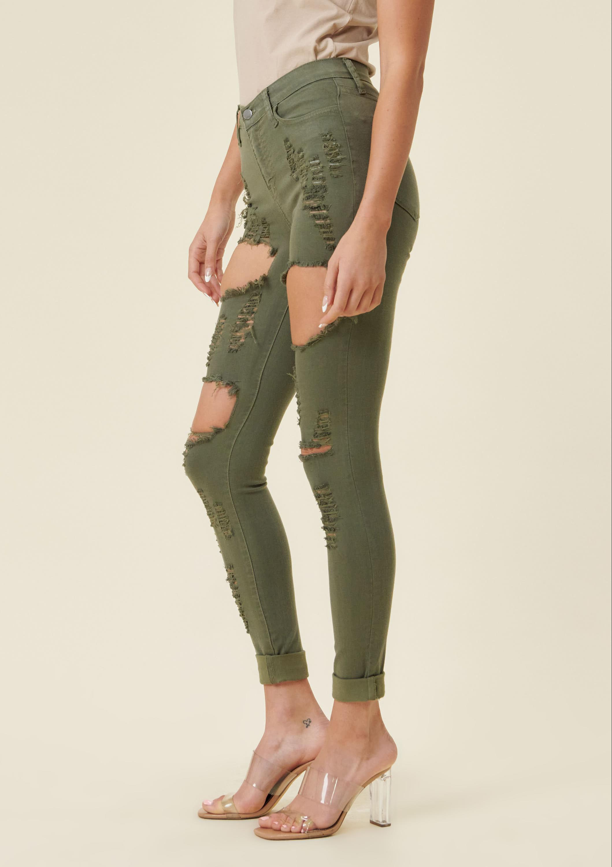 Callie Distressed Jeans