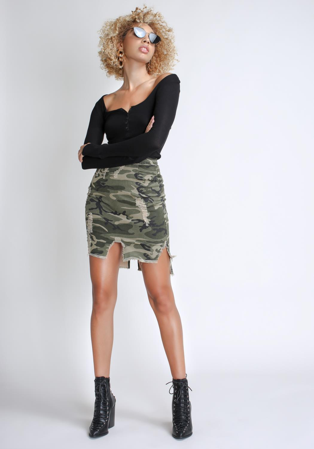 Cargo On-duty Skirt
