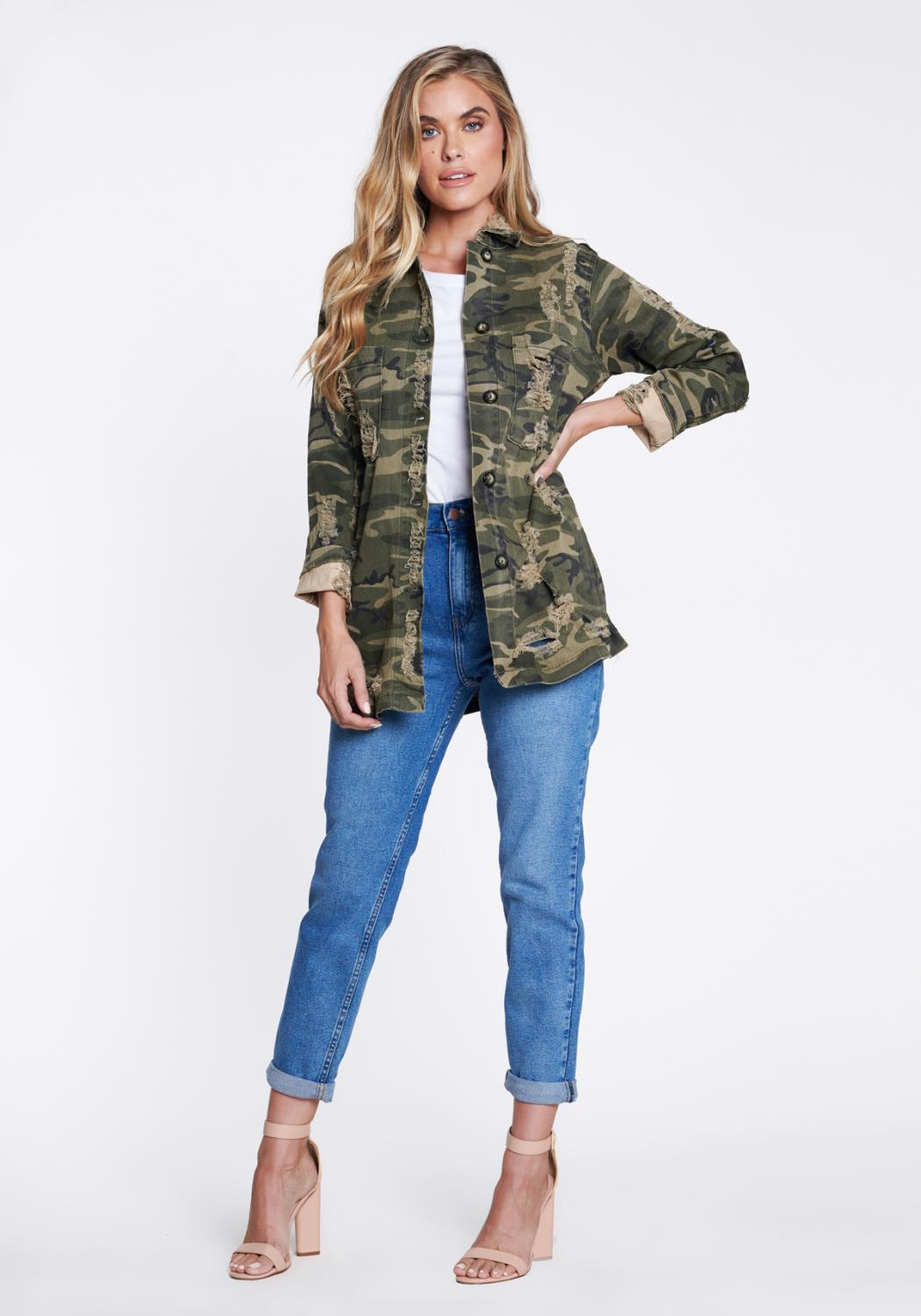 American On Duty Camo Jacket