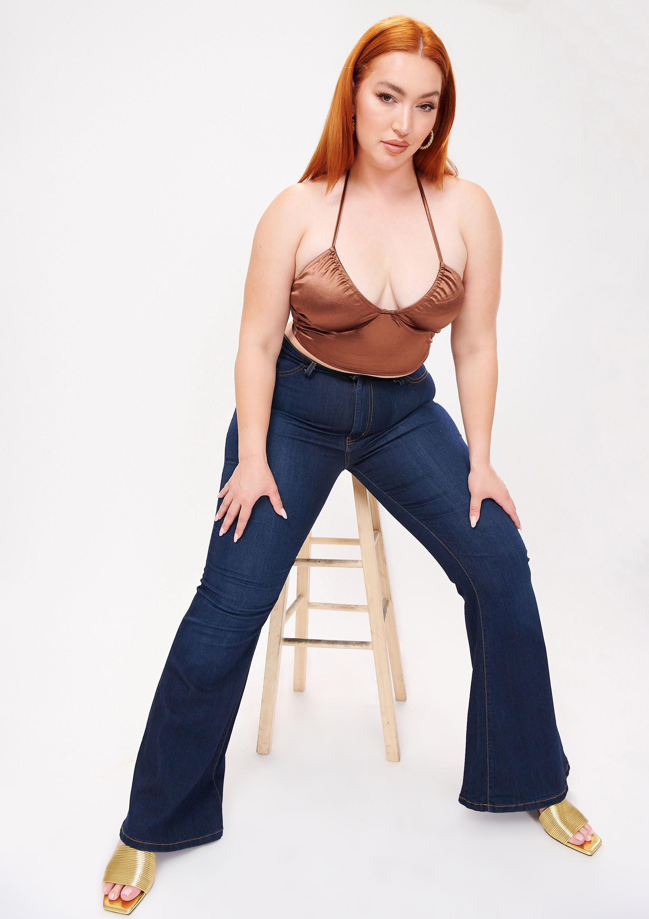 PLUS Tall Bell Flare Jeans