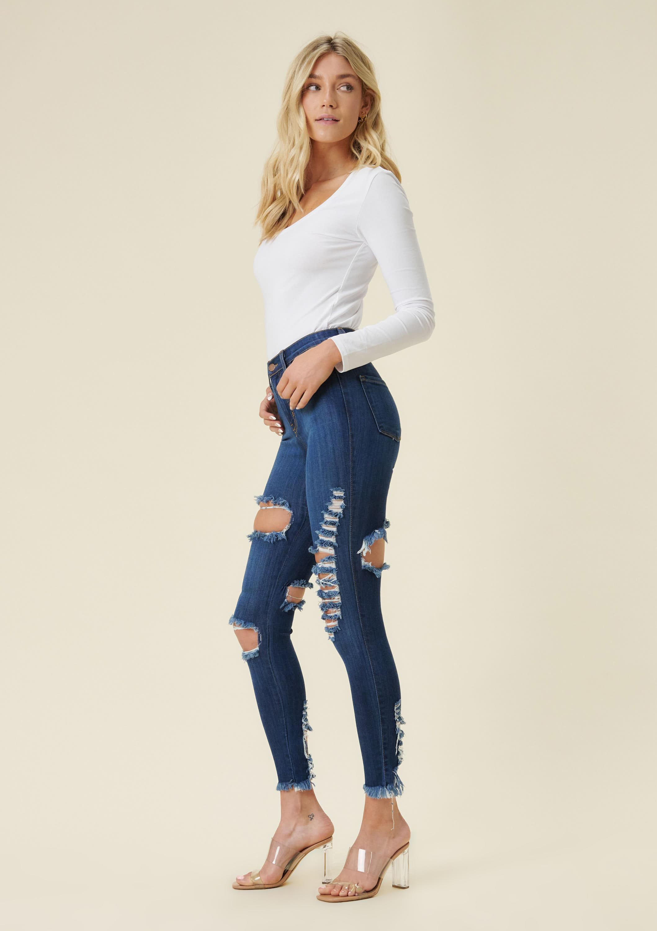 Klaudia Distressed Jeans