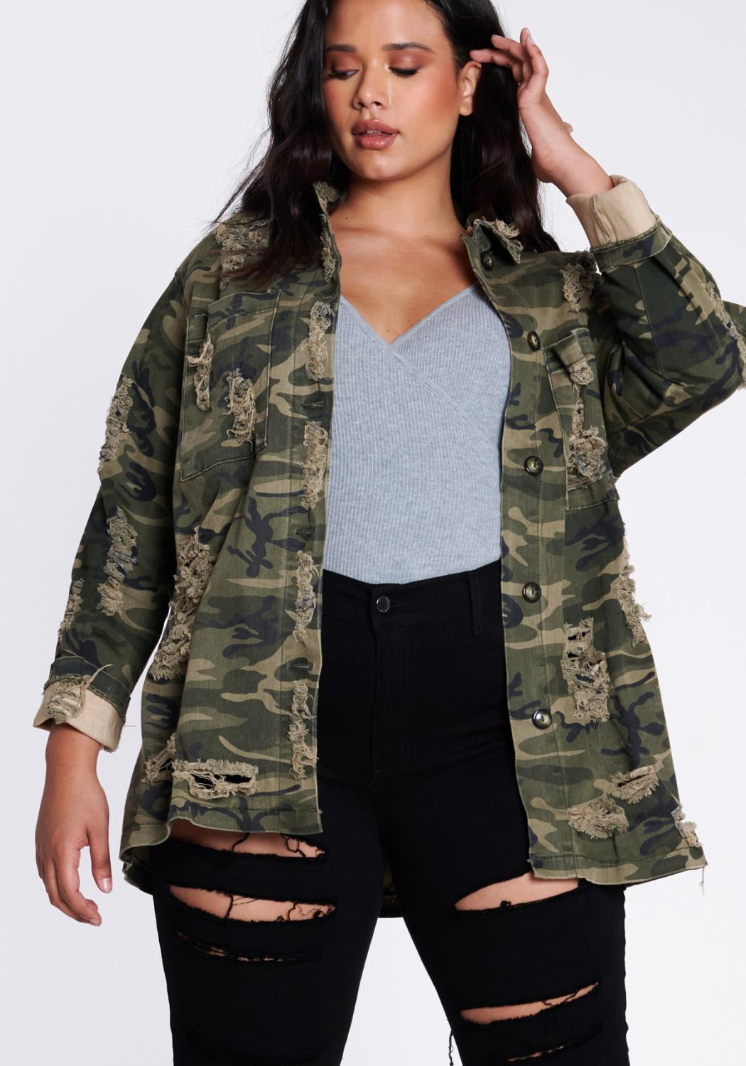 PLUS American On Duty Camo Jacket
