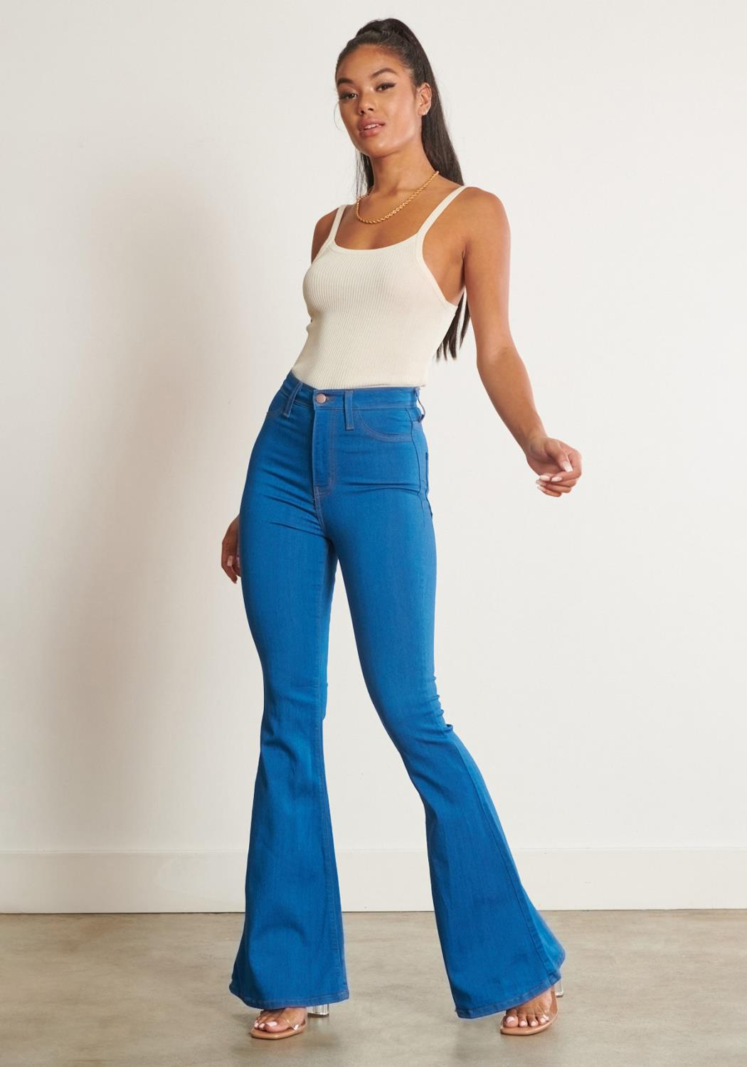 Tall Bell Flare Jeans