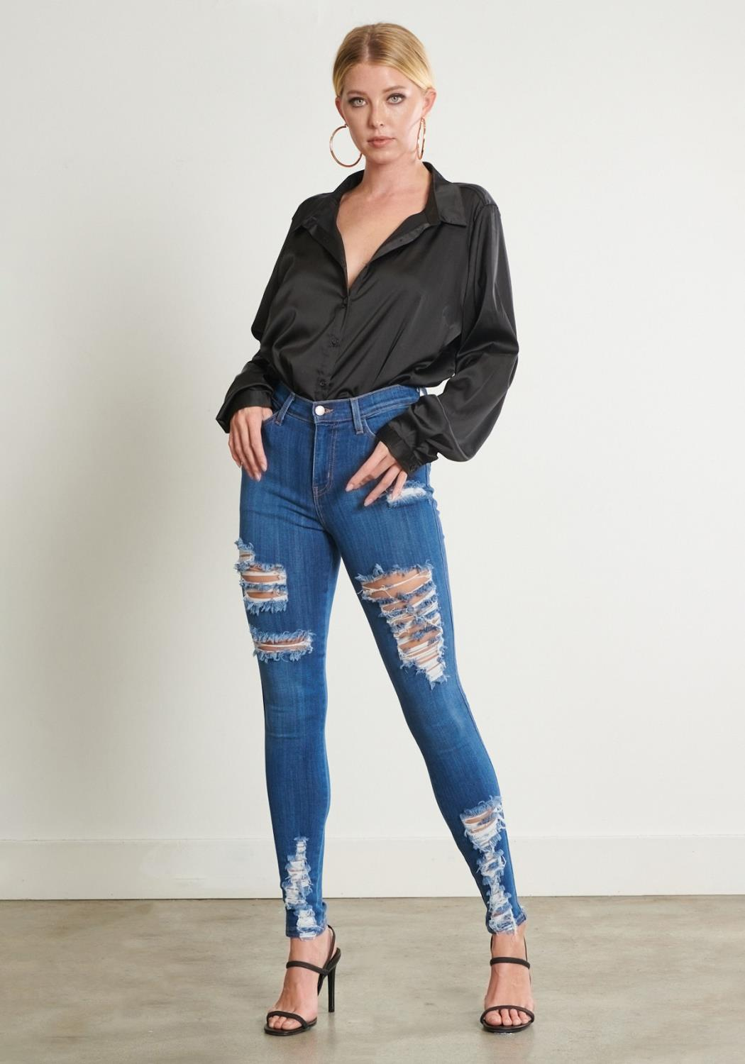 Morgan Distressed Jeans