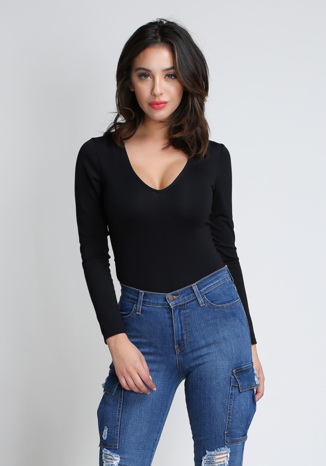 Basic Long Sleeved Bodysuit