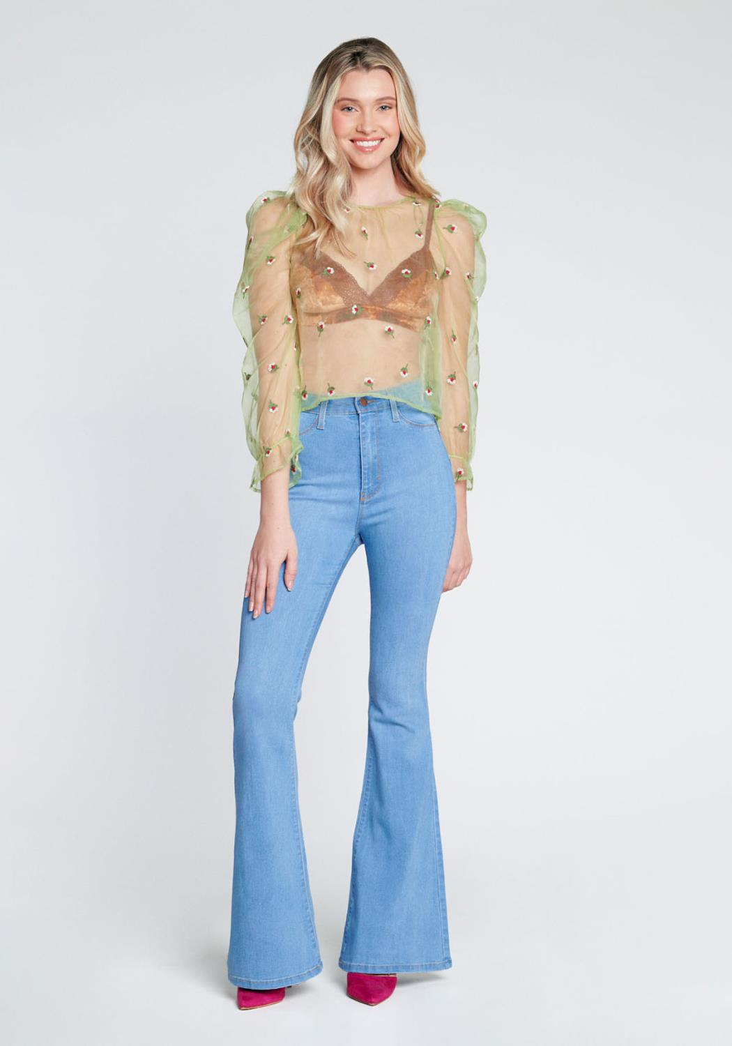 Sweetheart Flare Jeans