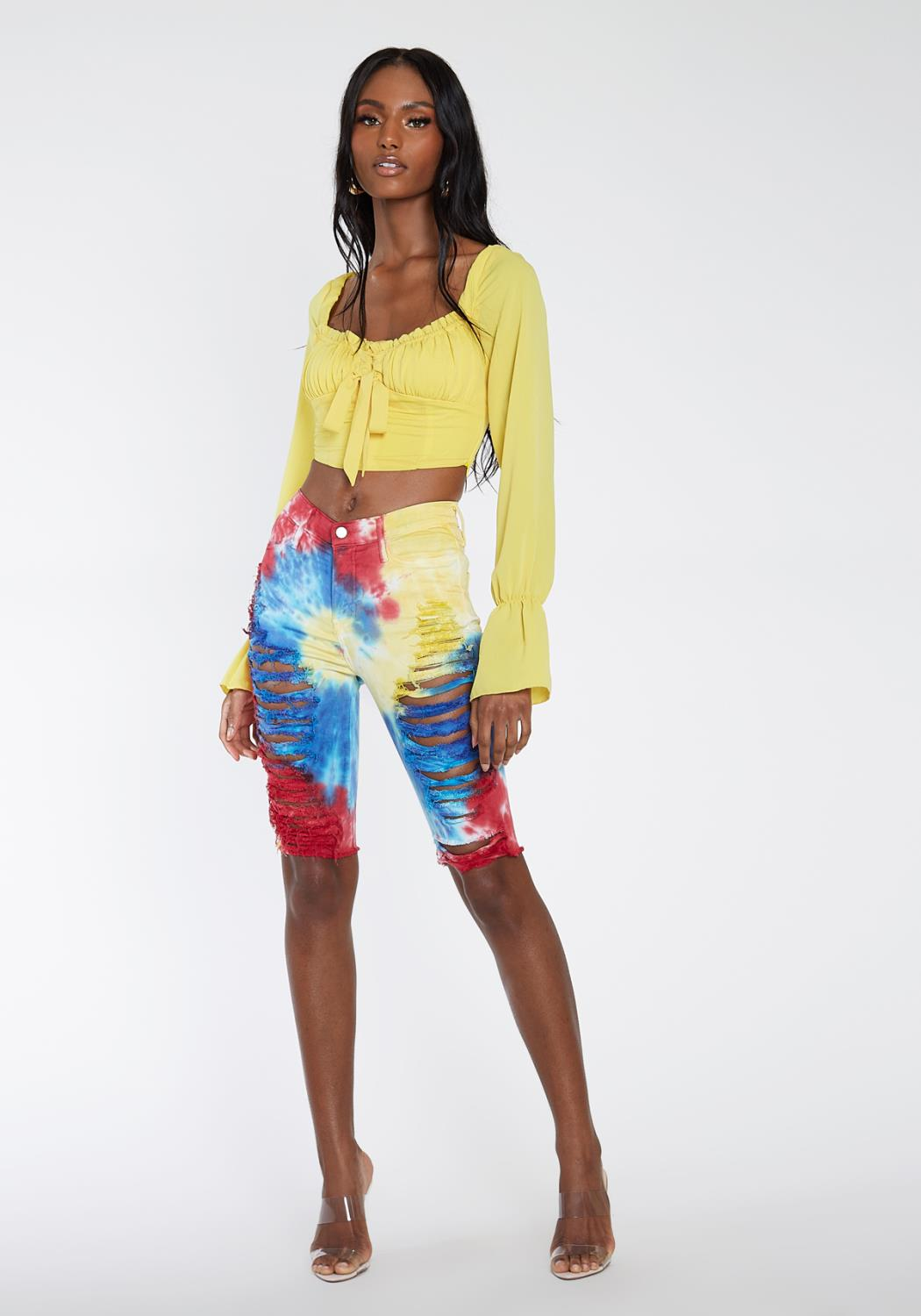 Bright Away Longline Shorts