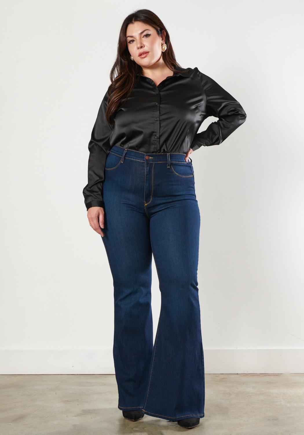 PLUS Sweetheart Flare Jeans