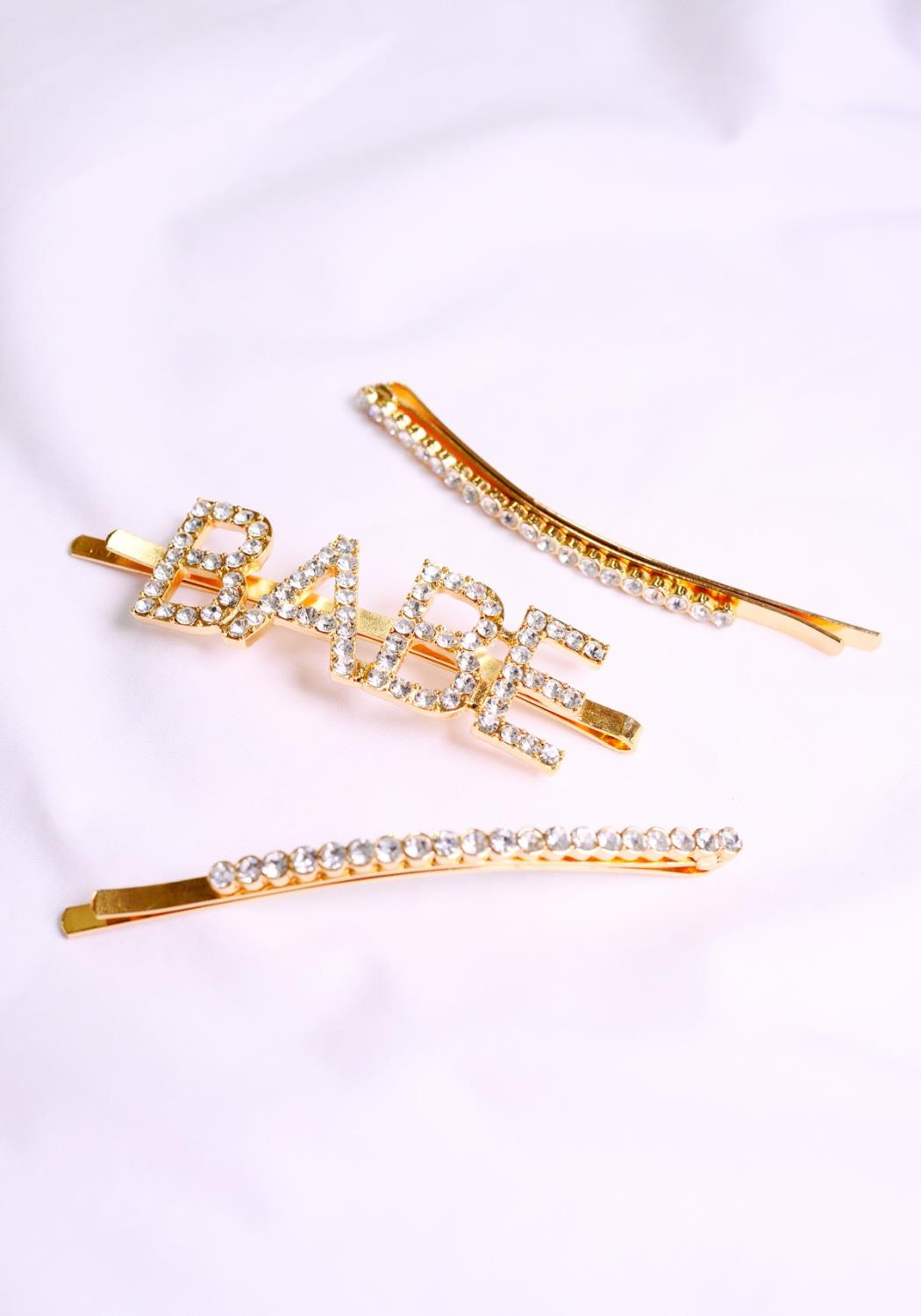 Such A Babe Hair Pin Set