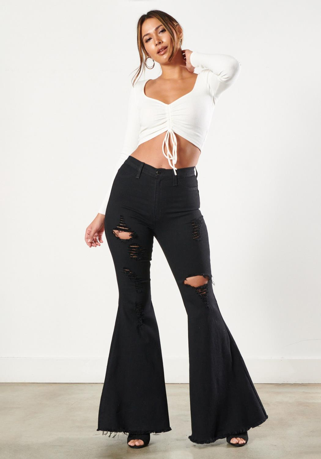 Too Flare To Care Jeans