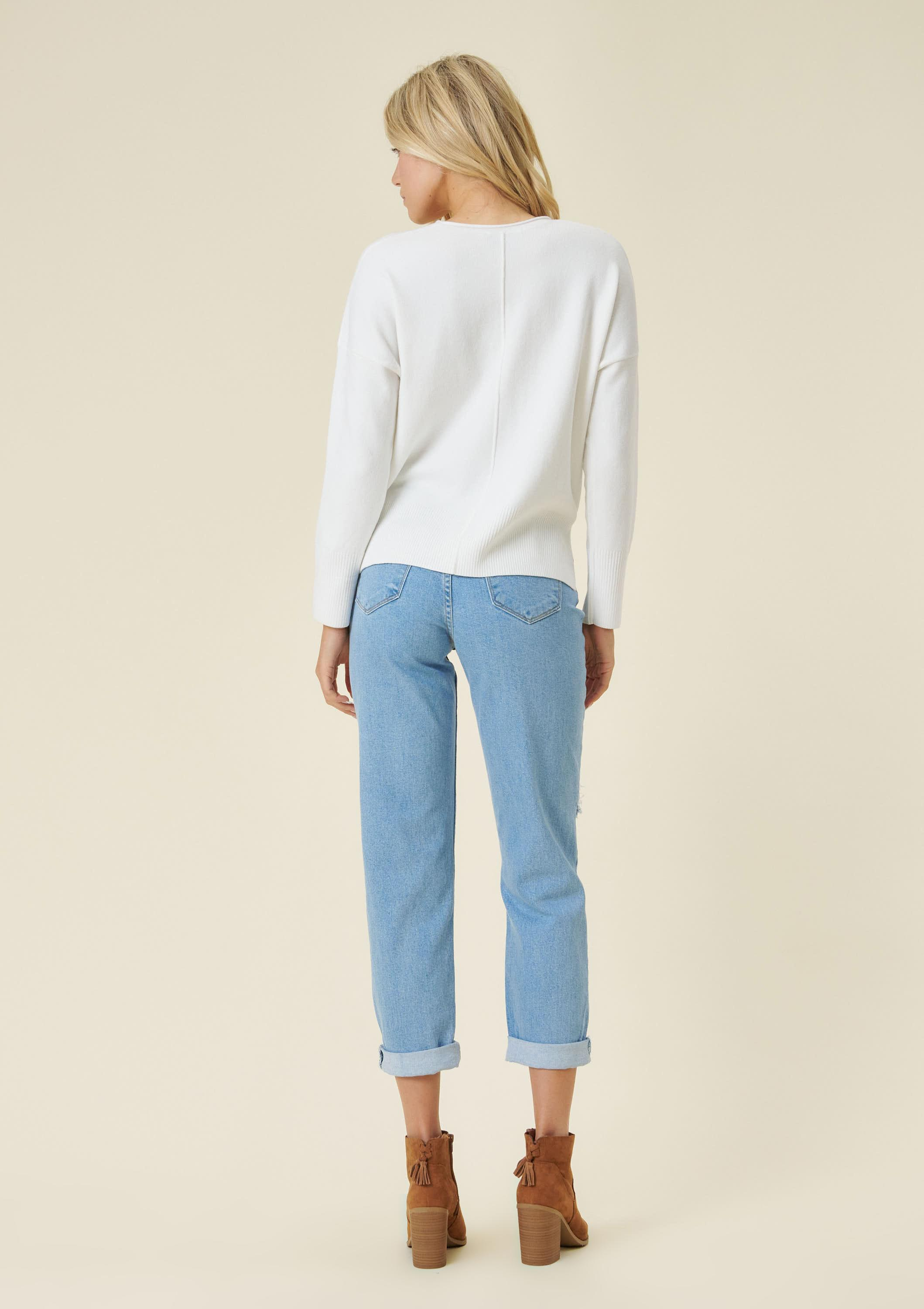Mama Knows Best Mom Jeans