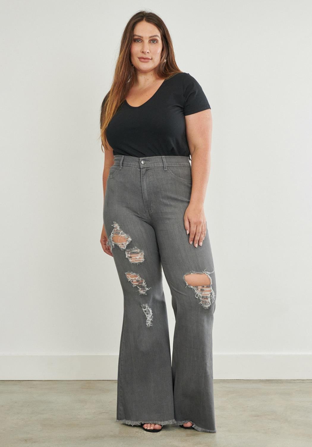PLUS Too Flare To Care Jeans