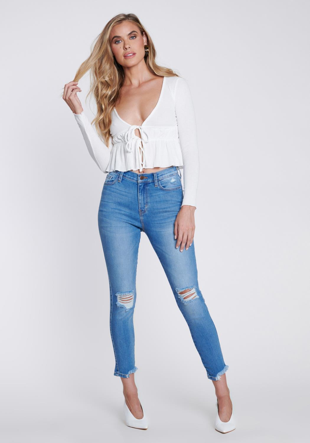 Glow-Getter Cropped Skinny