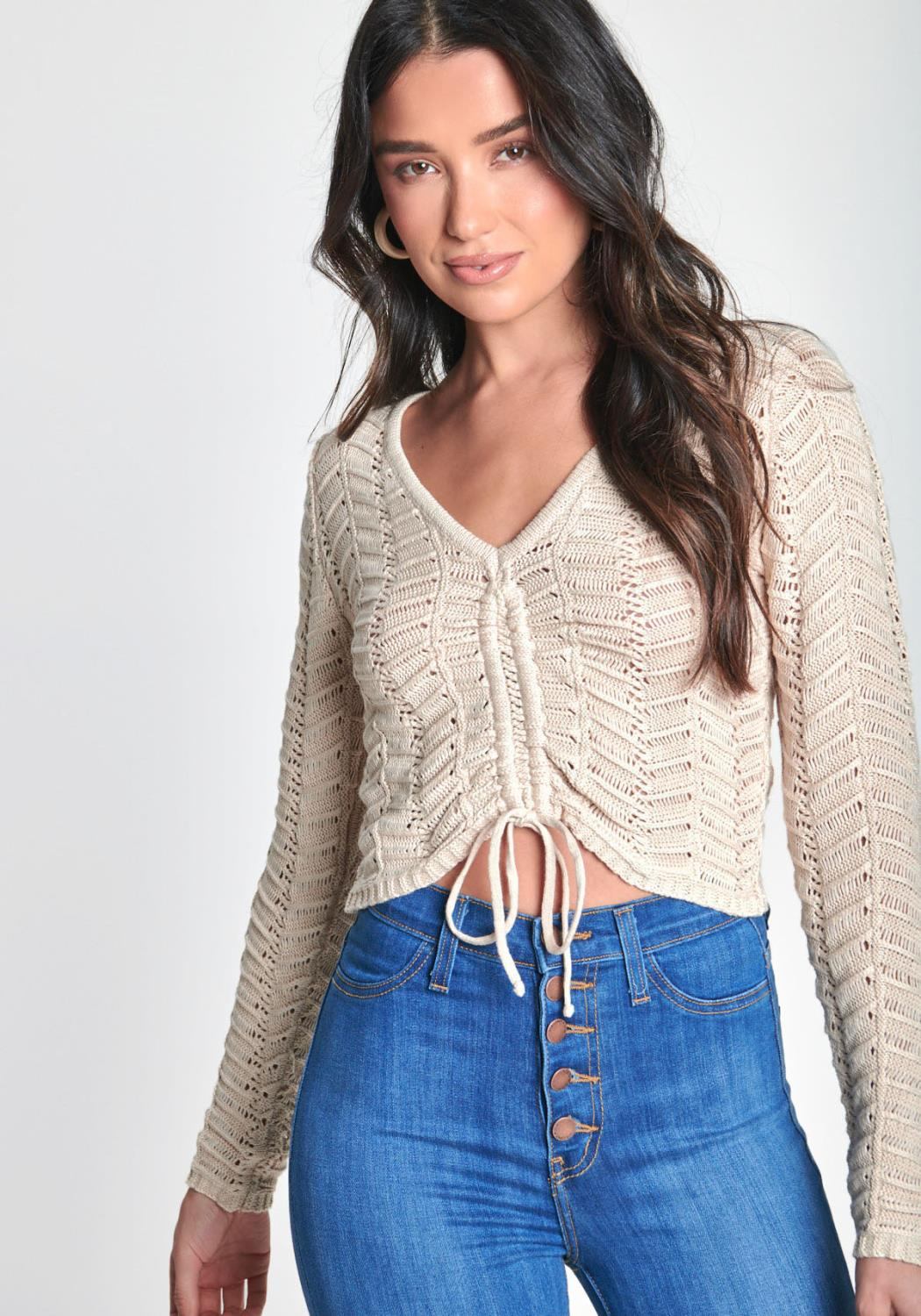 Get Knitty With It Top