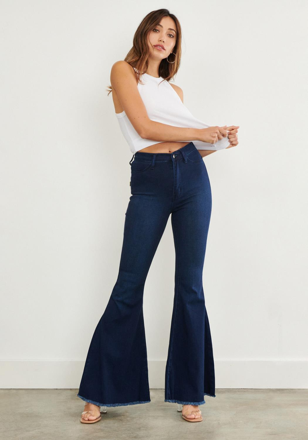 Horse Riding Flare Jeans