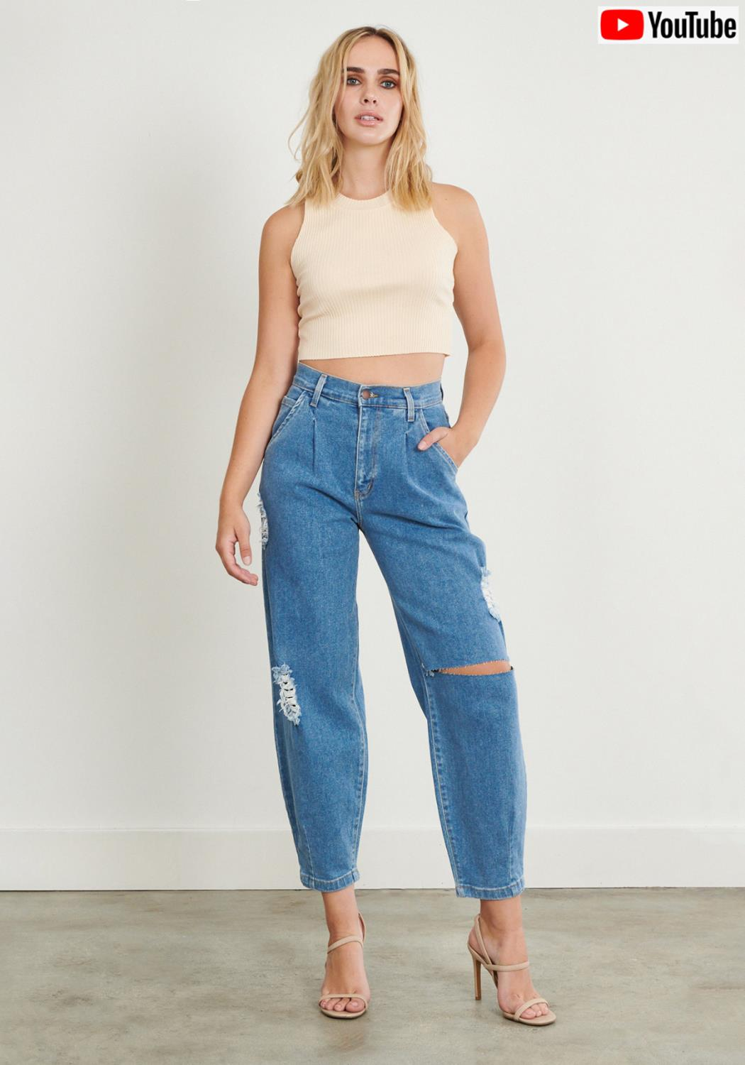 Be Present Slouch Jeans