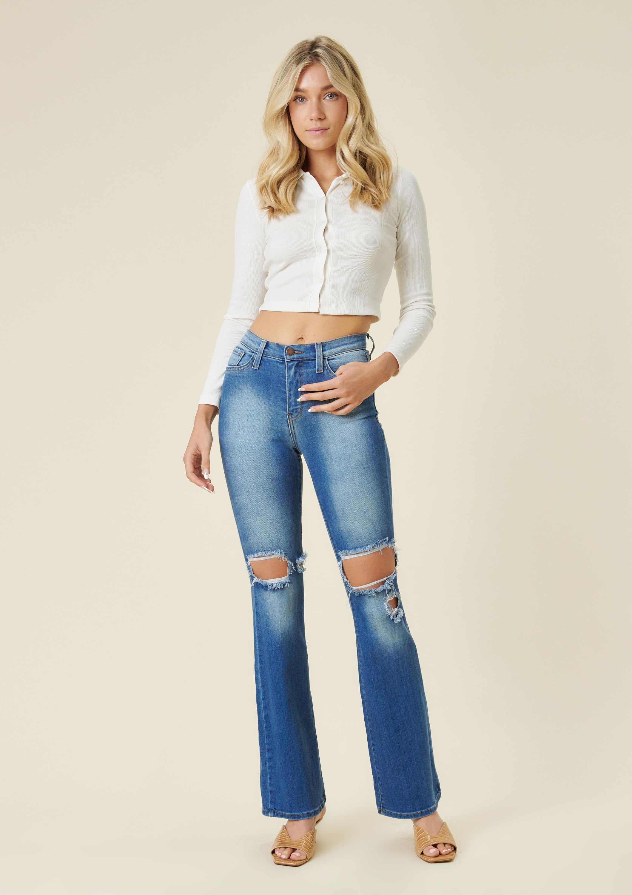 Day and Night Flare Jeans